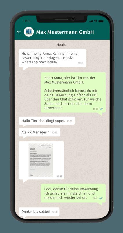 Whatsapp Chat 1 Smartphone