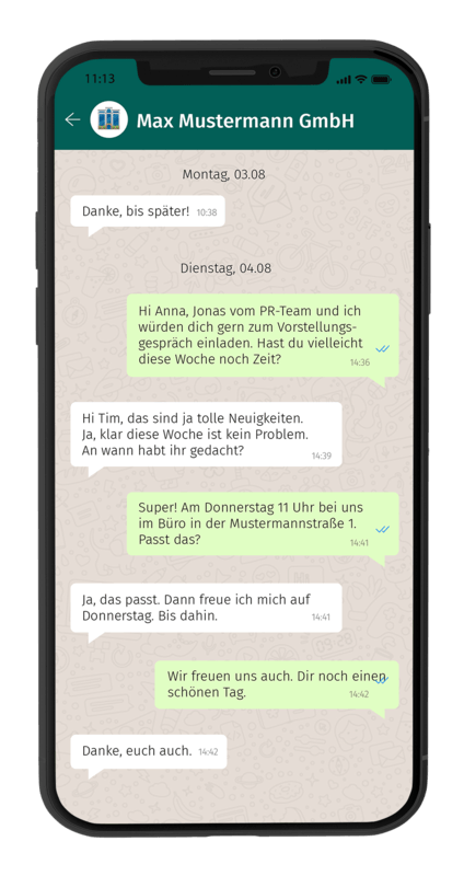 Whatsapp Chat 2 Smartphone