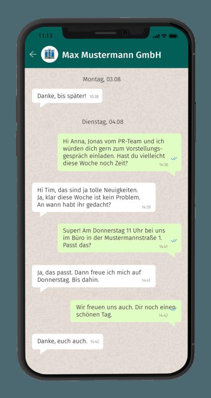 Whatsapp Chat 2 Smartphone