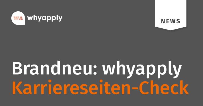 Karriereseiten-Check mit whyapply