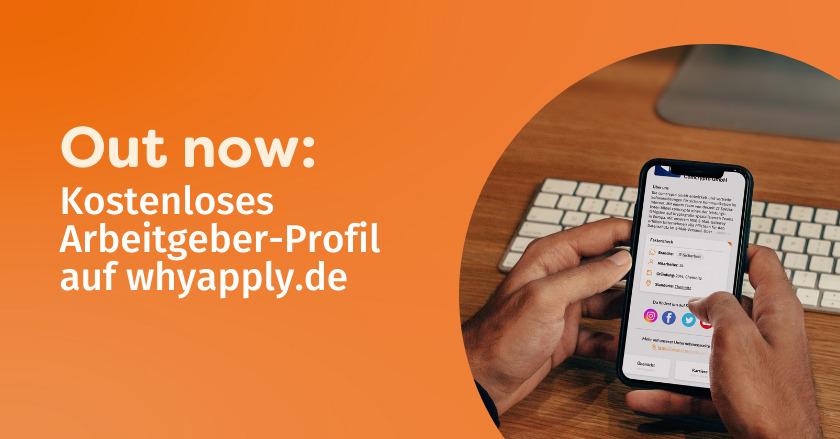 Release 2.1 – Employer Branding Upgrade auf whyapply.de