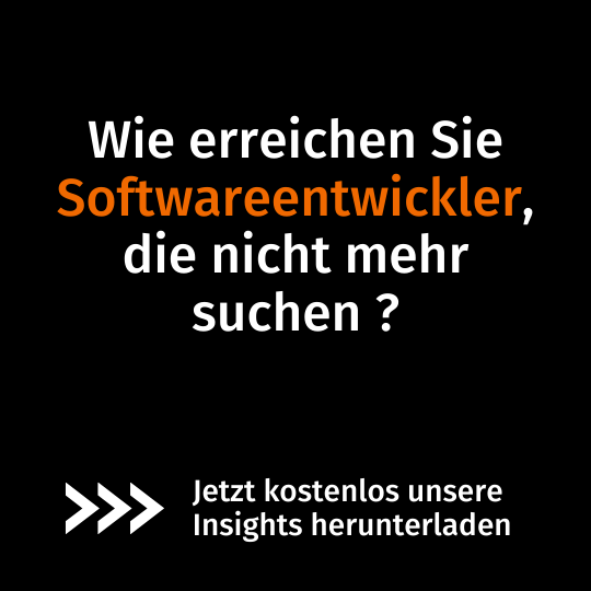 Insights Softwareentwickler