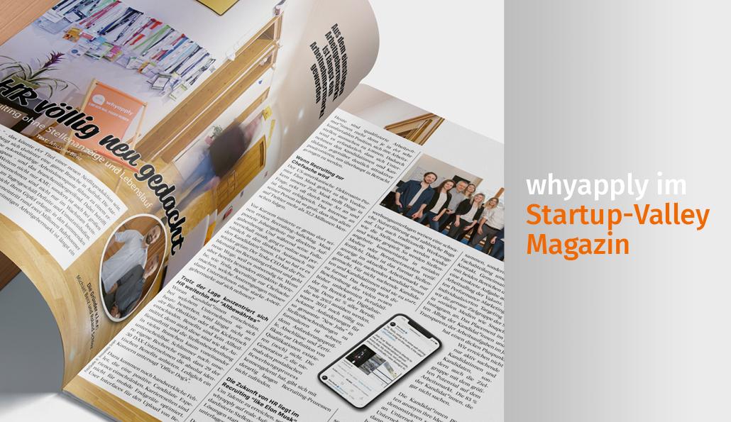 whyapply im Startup Valley Magazin