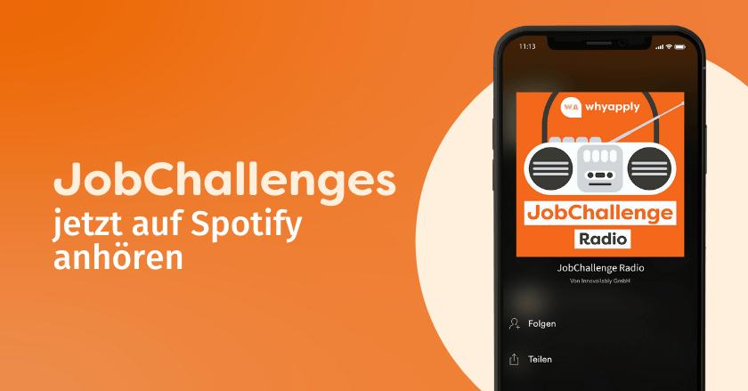 JobChallenges jetzt auf Spotify anhören