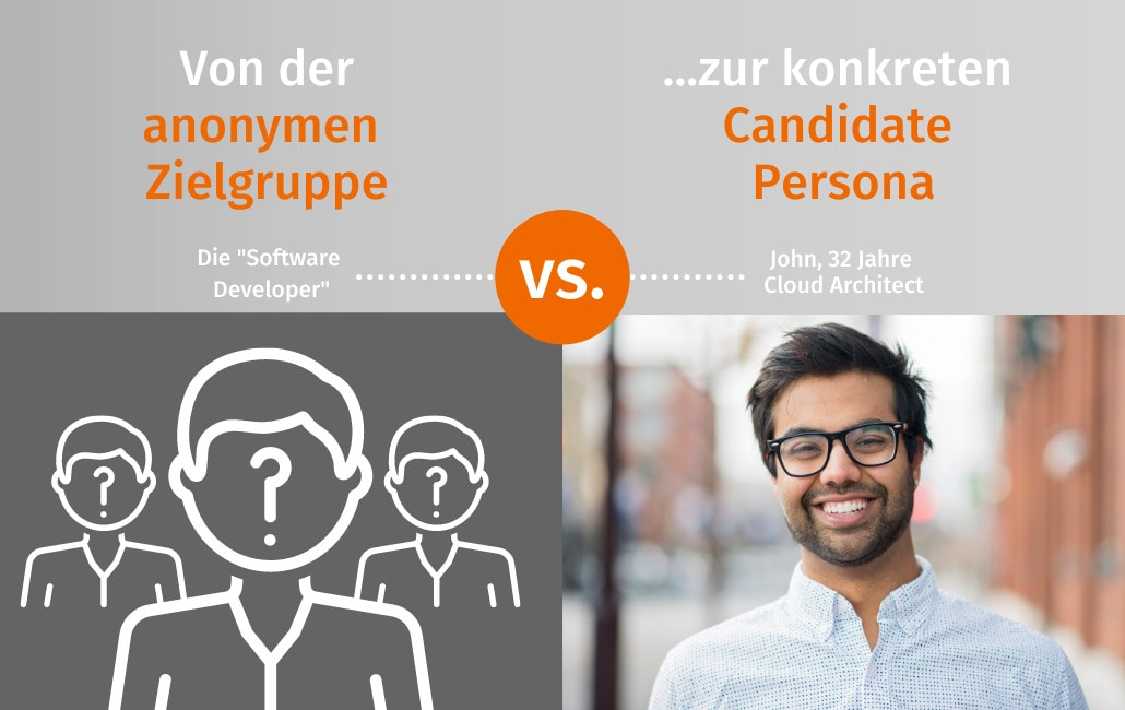 Konkrete Candidate Persona statt anonyme Zielgruppe