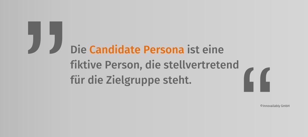 Definition Candidate Persona