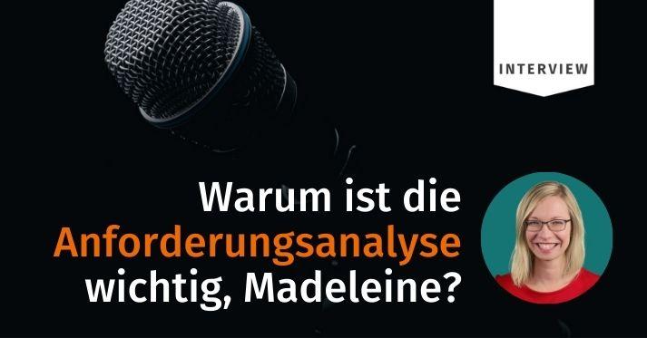 Experteninterview mit Madeleine Kern